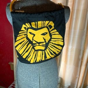 Lion King drawstring backpack